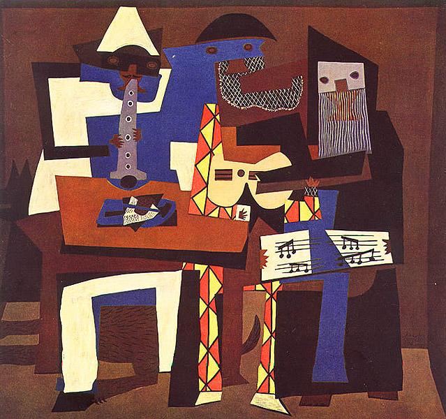 Tres músicos (Picasso)